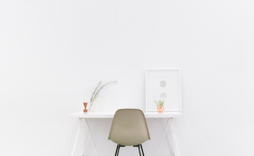Minimalist Desk and Chair
