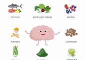 Foods for brain power
