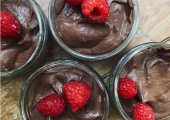 Dark chocolate mousse - and it's good for you!