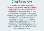 Client Review (Cate)