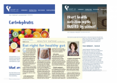 I write nutrition articles for various magazines and organisations