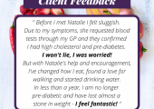 Client review - Pre-diabetes and high cholesterol