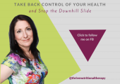 Take back control of your health... and STOP the downhill slide!