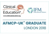 Institute of Functional Medicine AFMCP graduate