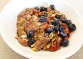 Homemade Soaked Chia Porridge