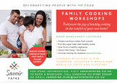 Family Cooking Workshops - Learn how to add nutritious yet simple ingredients into your family cooking