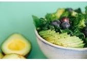 Favourite raw foods - avocado, berries, & kale