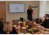 Delivering a lunchtime workshop