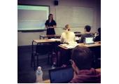 Lecturing at London Metropolitan University