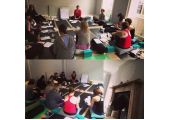 Our Introduction to Ayurveda Workshop in progress