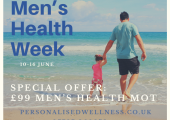 Men's Health Week Offer<br />Save £50 on Men's Health MOTs 10-16 June