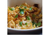 Spicy biryani<br />Vegan, vegetarian, balanced & low calorie