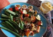 Weight management salads