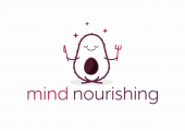 Logo<br />Mind Nourishing- Happy plate, happy body, happy mind