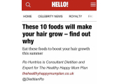 Article written for HELLO!