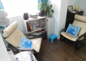 My therapy room in Roade, Northampton<br />A warm welcome awaits