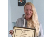 Successful Reiki 2 trainee<br />How beautiful is that smile?