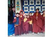 In sikkim Buddhist monks