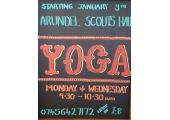 Yoga - The blackboard