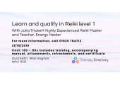 Julia Trickett  Highly Experienced  Reiki Master and Teacher. Energy Healer image 1