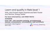Julia Trickett  Highly Experienced  Reiki Master and Teacher. Energy Healer image 1