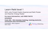 Julia Trickett  Highly Experienced  Reiki Master and Teacher. Energy Healer image 3