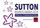 Special Commendation at the 2018 Sutton Business Awards