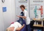 Cam Expo, Olympia, 2014 - Working at the ASK stand, doing Kinesiology taters. A great day out.