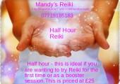 Half hour Reiki