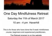 One Day Mindfulness Retreat