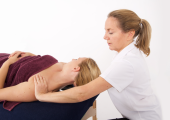 Shoulders and neck therapeutic treatment