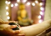Hot Stone Massage<br />Quick, relaxing, healing heat and massage