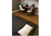 Your Shiatsu treatment room in Stoke Newington, London<br />A little piece of calm, light and quiet for you, on a heated mat for your comfort