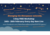 Free Menopause workshop