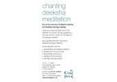 Chanting Deeksha Meditation