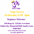 Yoga Ombersley<br />Wednesday 6.30pm until 8pm