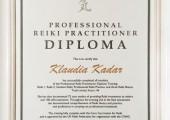 Professional Reiki Practicioner Diploma
