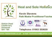 Kevin Stevens Reiki Master Practitioner/Teacher