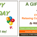 Gift Voucher Happy Birthday