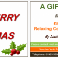 Gift Voucher Merry Christmas