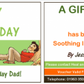 Gift Voucher Fathers Day
