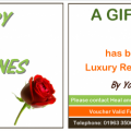 Gift Voucher Valentines Day