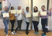 Usui Reiki 1 Course<br />Newly Qualified Reiki Therapists!