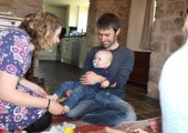Family Baby Reflex - Teaching a lovely family how to do Baby Reflex for their baby in their home