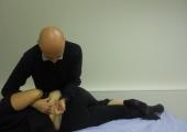 Lumbar roll manipulation