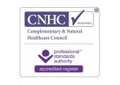 Complementary & Natural Healthcare Council (CNHC)<br />Registered with the Complementary & Natural Healthcare Council (CNHC)