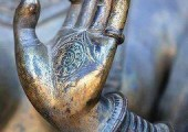 Buddha Hand - Reiki is a therapy method of 'healing'