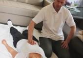 Moblie shiatsu treatment