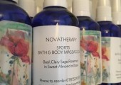 Novatherapy 'sports massage and bath oil'