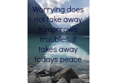 Lake Louise<br />Mindfulness quote